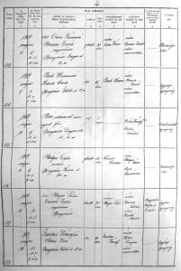 Beckne Krausz Anna halotti 1919