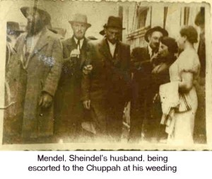 Mendel at Sheindel's Wedding