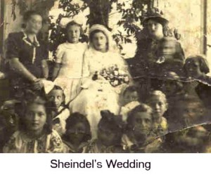 Sheindel's Wedding #1